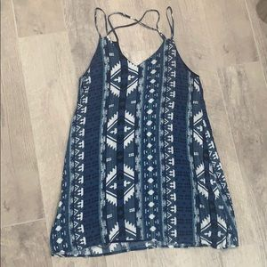 Blue Aztec Patterned Dress 💙